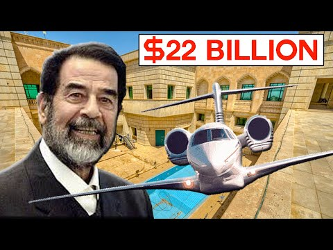 10 Expensive Things Previously Owned By Saddam Hussein