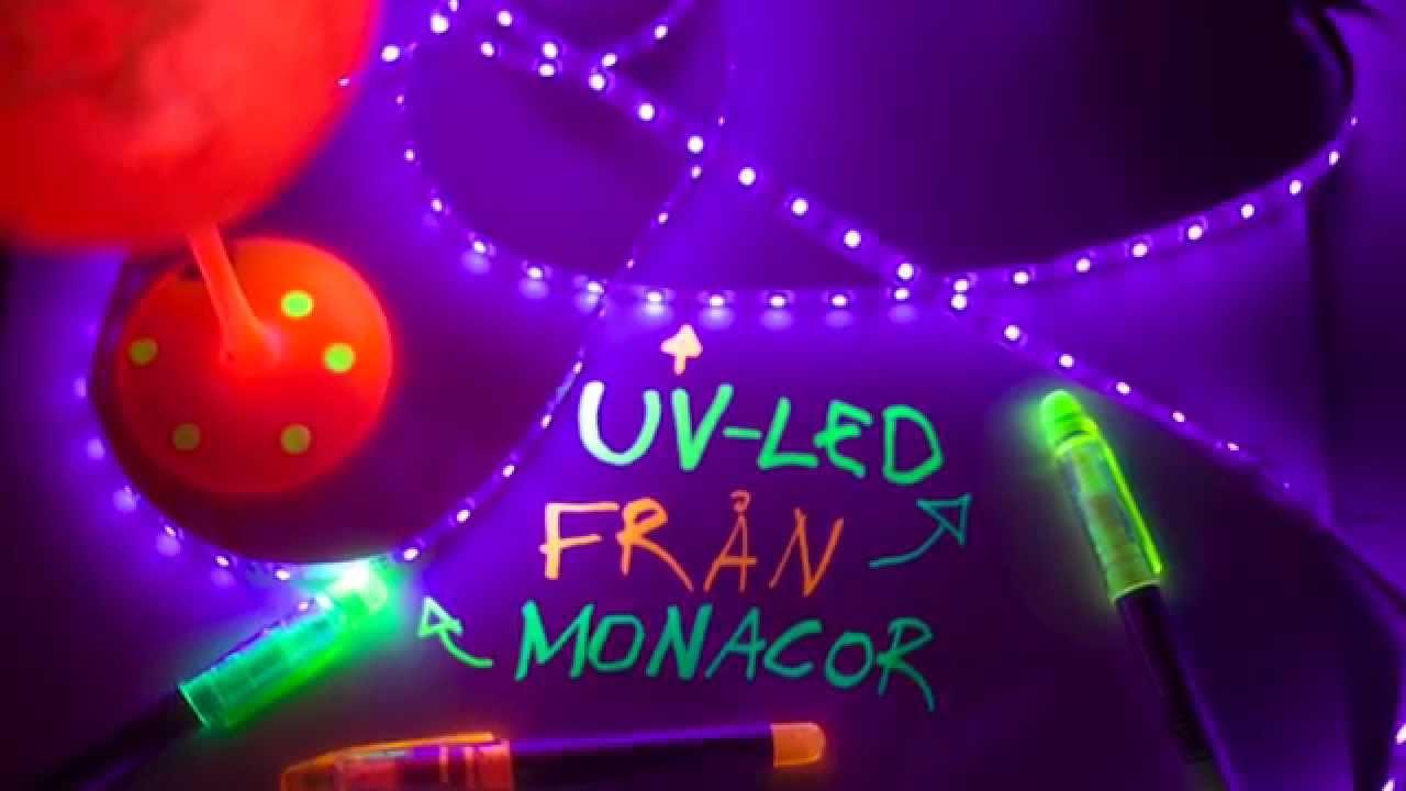 Uv led strip youtube mozeypictures Choice Image