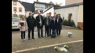 Jugendliche erinnern an das Schicksal jüdischer Mitbürger in Bruttig-Fankel