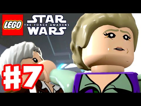 LEGO Star Wars The Force Awakens - Gameplay Part 7 - Chapter 7: The Resistance!