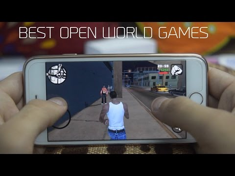 Top 5 Best Open World Games 2016/2017 - Android & iOS (iPhone iPad & iPod) | 5 Games You Can