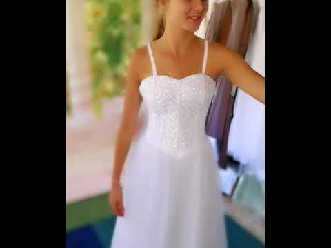 Sequin Deb Dress