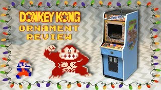 Donkey Kong Hallmark Ornament Review