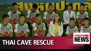 Youth football team rescued from cave in Thailand relive ordeal