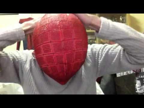 McLean Spider-Man faceshell