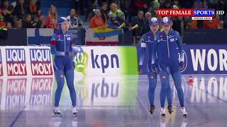 2017 ISU - Team Sprint - World Cup Speed Skating Stage 1 Heerenveen