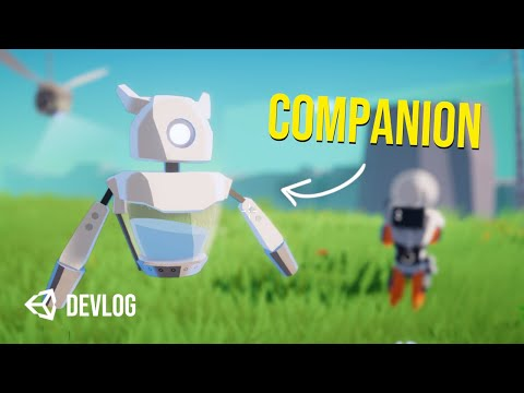Adding A Friendly Companion to My Weird Shooter Game - Devlog |