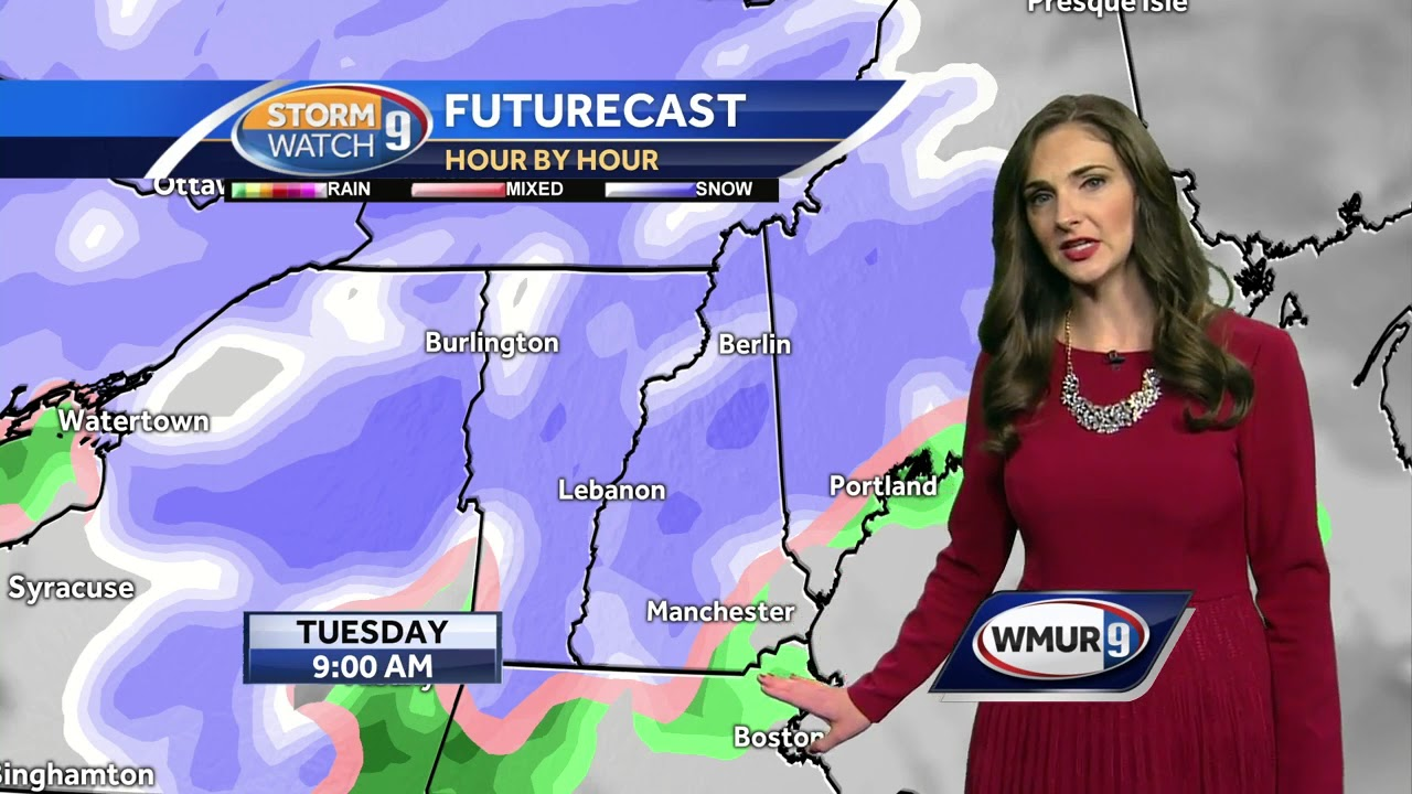 Watch: Quiet Monday Then Another Snow Storm Tuesday