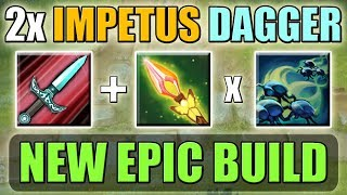 Full HP Hit with Double Impetus-Dagger [Impetus + Dagger * Geminate Attack] Dota 2 Ability Draft