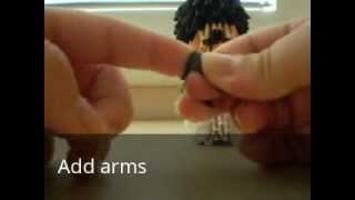 how to make 3d origami nibbler futurama part 2