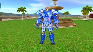 Tank Robot Game 2021 – Police Eagle Robot Car Game | android gameplay screenshot 4
