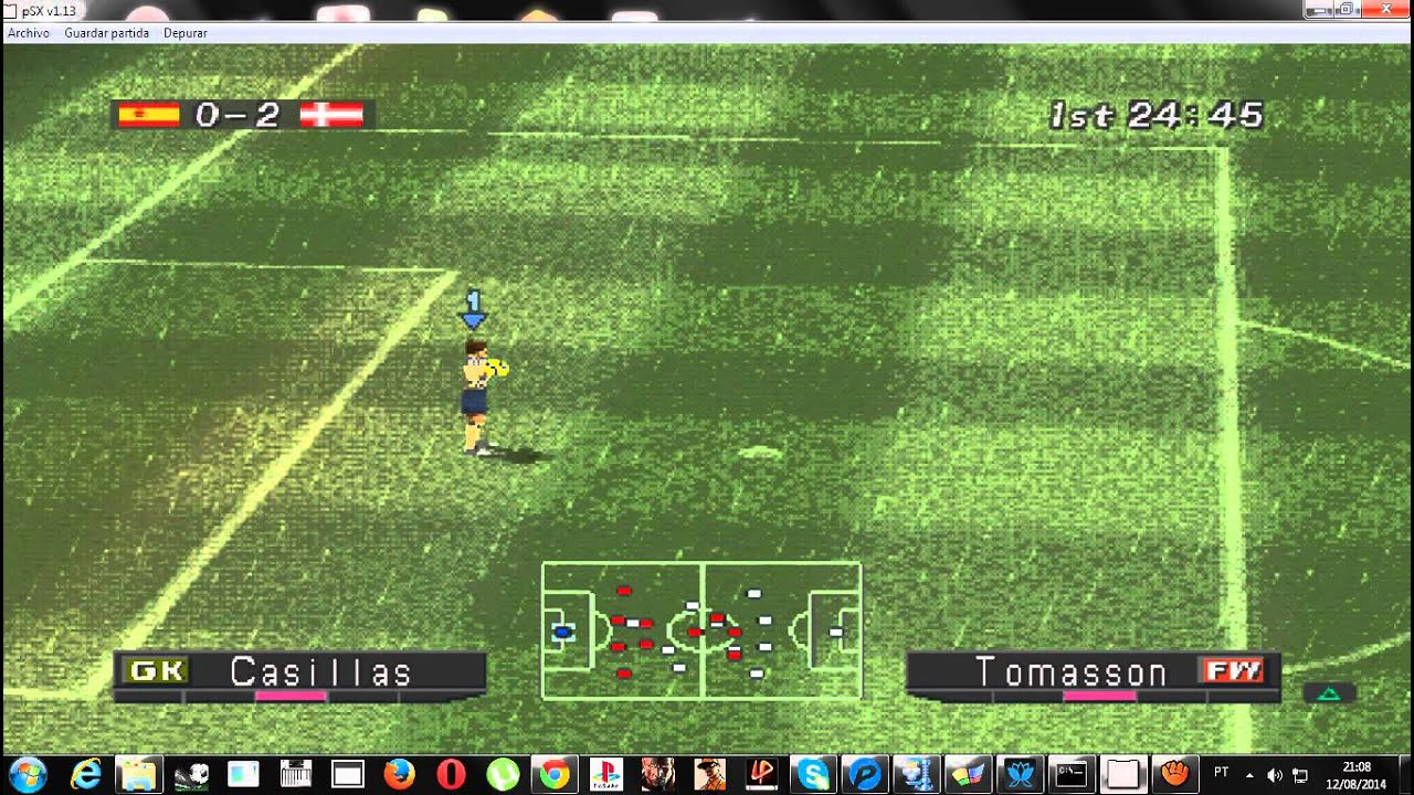 Jogo e futebol