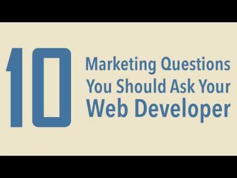 10 Marketing Questions You Should Ask Your Web Developer: Website Building Essentials