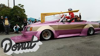Video Crazy Car and Biker Gang (Bosozoku Outlaw Style): WTF Wednesdays | Donut Media download MP3, 3GP, MP4, WEBM, AVI, FLV September 2017