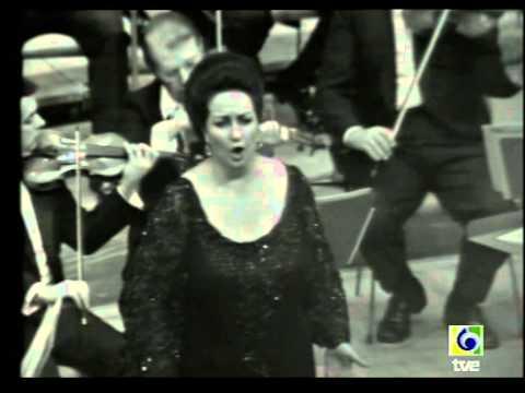 Montserrat Caballé. Madrid Concert. 1972.