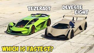 GTA 5 - DEVESTE EIGHT vs PEGASSI TEZERACT - Which is Fastest?