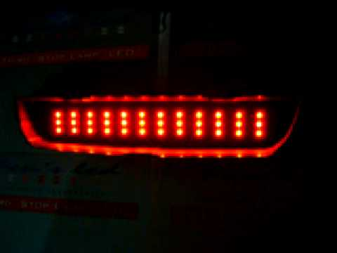 Stop Lamp Led : 3rd stop lamp LED [ high mount stop lamp ] PAJERO SPORT - YouTube