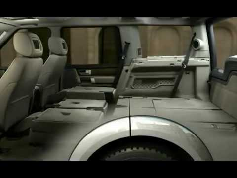 7 Seater Vehicles >> 2010 Land Rover Discovery 4 LR4 - demonstration of the flexible 7 seat design.mp4 - YouTube