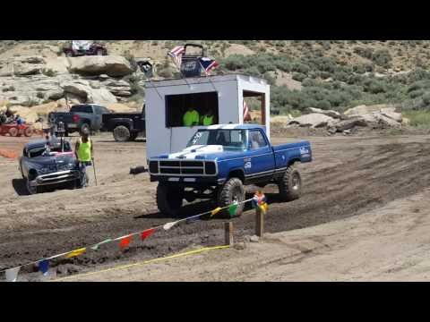 440 hemi power superior Wyoming mud bogs 2016