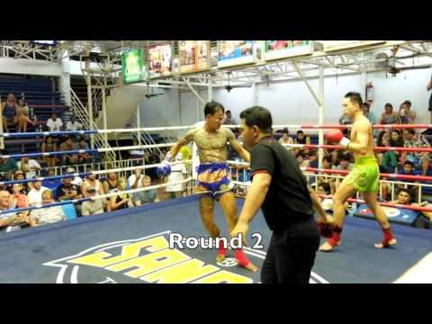 Meng Yu (China) PhuketTopTeam TKO win October 9th Bangla Stadium
