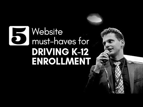 5 Website Must-Haves for Driving K-12 Enrollment at Private Schools