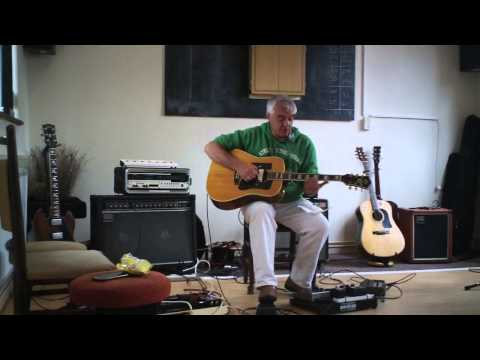 Guitar Clinic-Playing John Martyn-Delay/Echoplex- Ian'Mc'G at Syston-JM Summer Gathering 2013