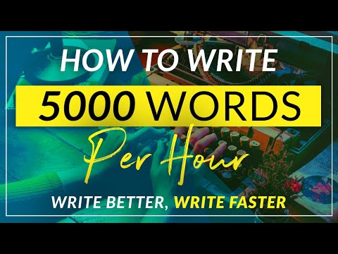 Can I write a 5000 word essay in 7 hours?