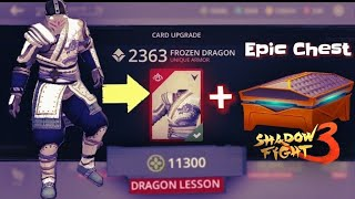 Shadow Fight 3 || Frozen Dragon Upgrade Unique Item At Dragon Lessons