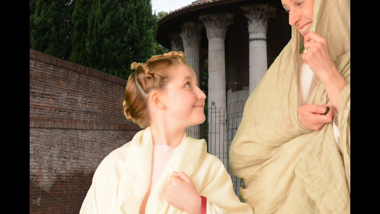 History Of Hairstyling Roman Empire Salon Treuvis