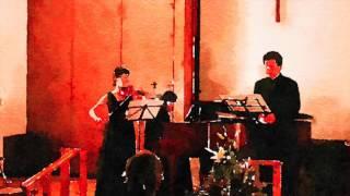 詩、曲:武満徹 2015年11月28日 とある教会の礼拝堂にて.