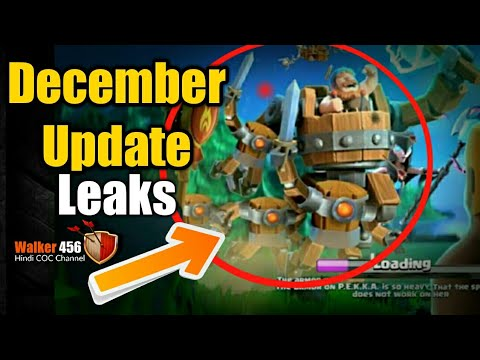 Coc | New loading screen December Update  | Hindi | Walker 456 | Clash of clans