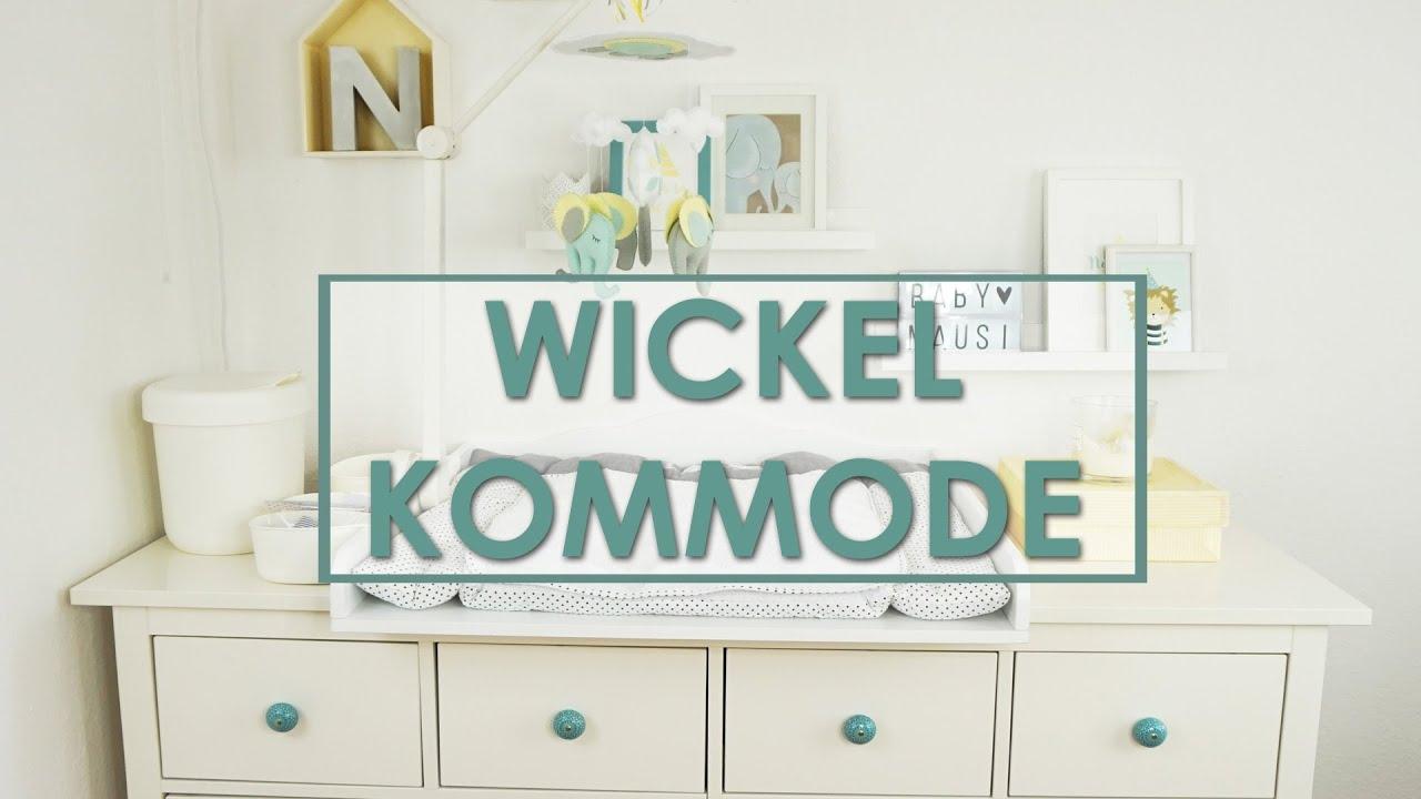 Unsere Wickelkommode Wickeltisch Einrichten Ikea Hemnes
