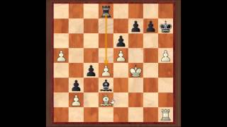 Rooks and Opposite coloured bischops endings #1 Judit Polgar 1 - 0 Levan Pantsulaia