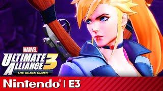 30 Minutes Of Marvel Ultimate Alliance 3: The Black Order Gameplay | Nintendo Treehouse E3 2019