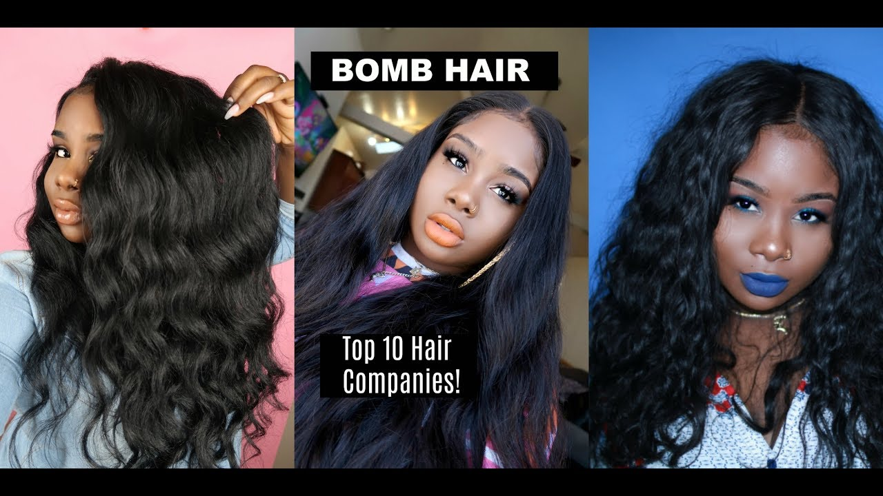 My Top Ten Hair Companies Youtube