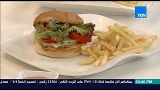 مطبخ 10/10 - Matbakh 10/10 - الشيف أيمن عفيفي - الشيف ممدوح أبو جاموس - طريقة عمل برجر اللحم والدجاج