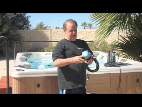 How to Drain a Cal Spa Hot Tub : Pools & Spas