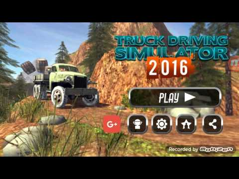 (Découverte) Trucks Driving Simulator 2016