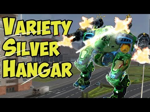 War Robots - Pure Silver & WP Hangar - Can We Compete?