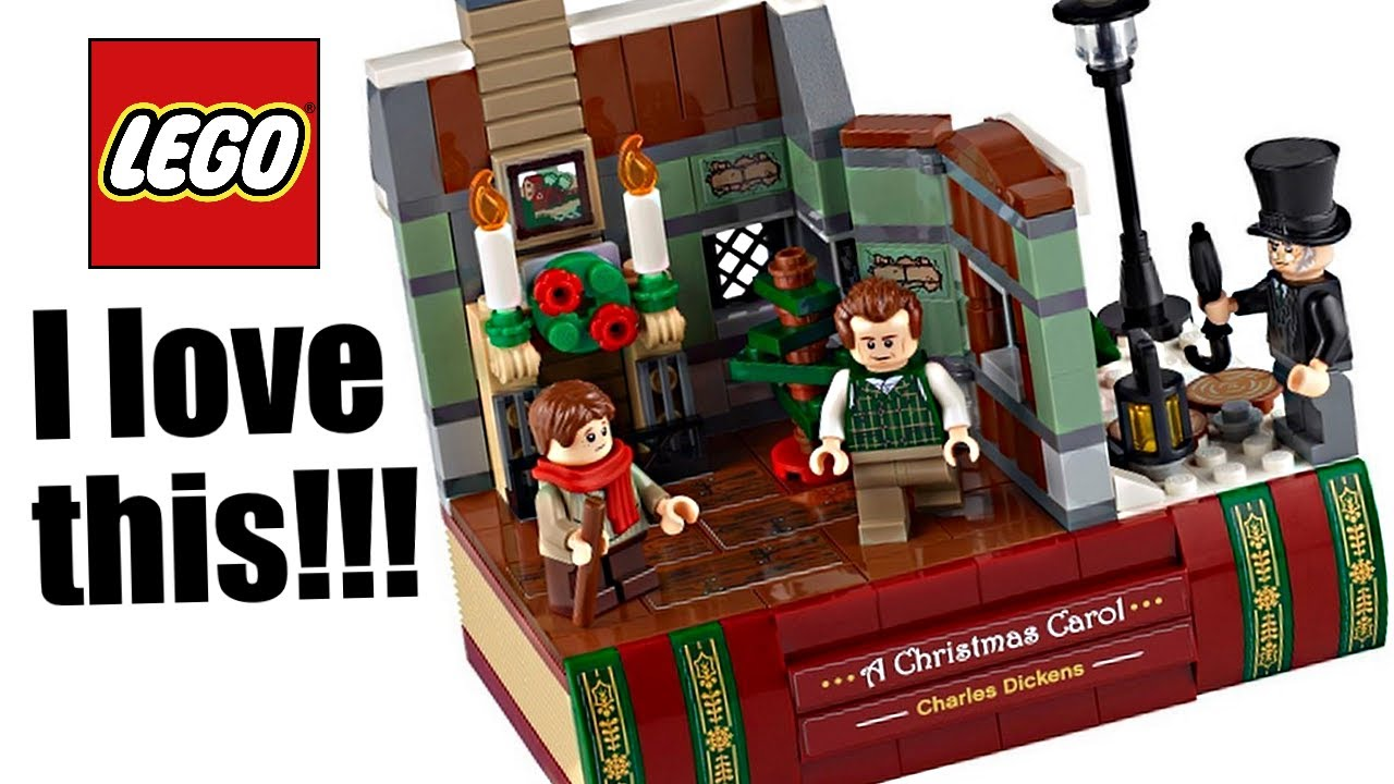 Lego A Christmas Carol 2020 Set This Is Awesome Youtube