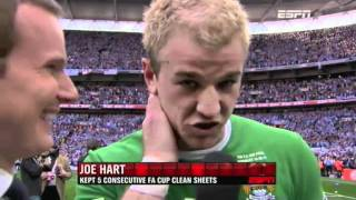 Joe Hart and Adam Johnson 'over the moon' with win