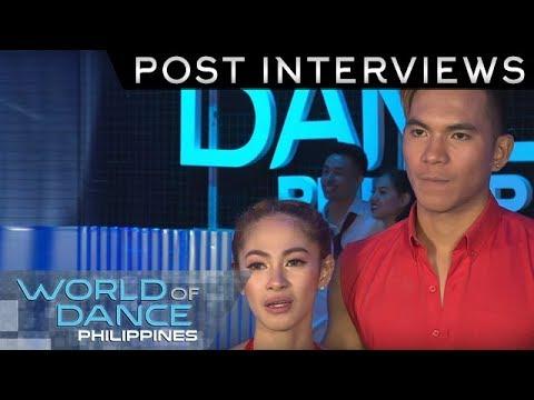 World Of Dance Philippines: DavNor JC Duo | Post-Interview