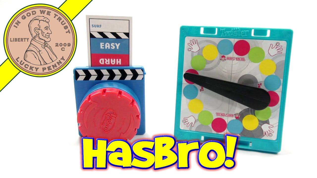 Hasbro Game Night 2013 Wendy s Kids Meal 6 Toy Set