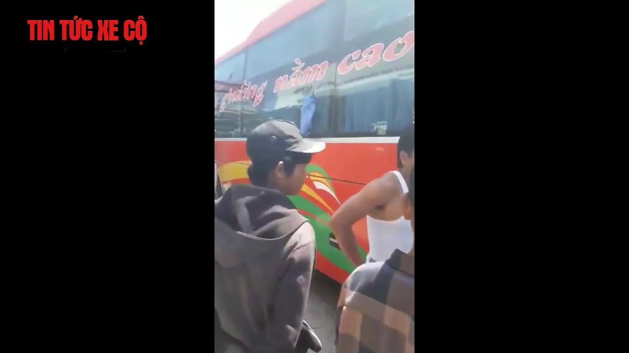 Xe khách thọ mười gây tai nạn Tại chợ tùy quà xã hàm đức huyện hàm thuận