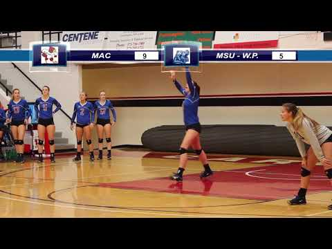 Mineral Area College vs MSU West Plains - Volleyball - 10/18/2017