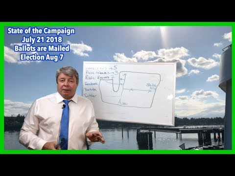 US Senate Race Washington State Matthew Heines State of the Campaign July 21, 2018