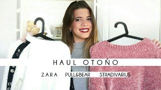 HAUL OTOÑO 2017 | Zara, Pull&Bear, Stradivarius... | Apagayvamonos