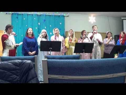 In Betleem Azi E o mare minune- Familia Perju din Singerei Noi (Atlanta)