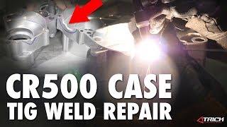 CR500 Tig Welding Case Repair