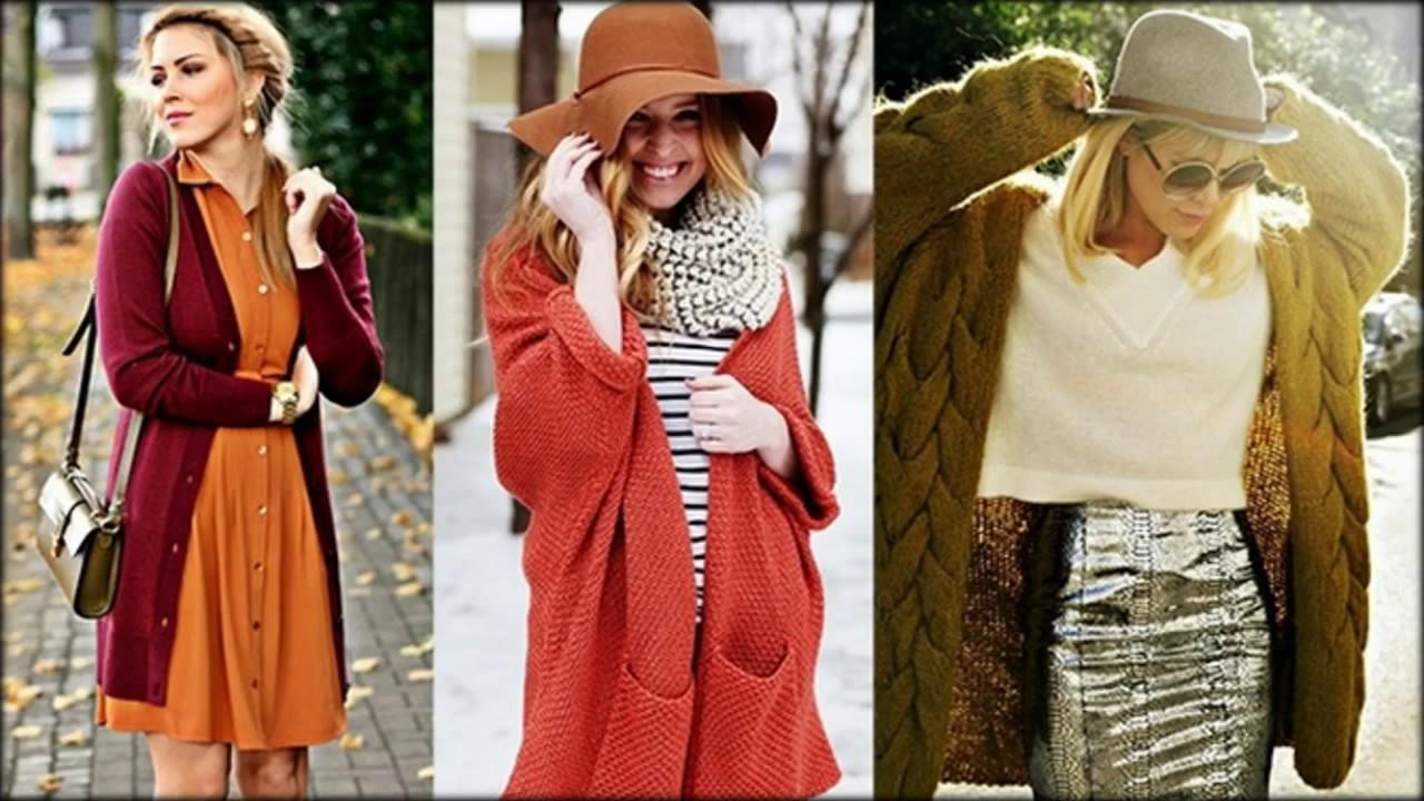 Вязаное Пальто Спицами для Женщин - 2017 / Knitted coat spokes for .